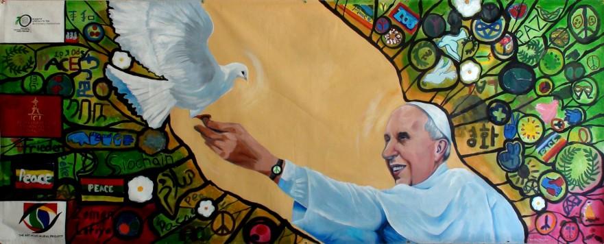 pope mural 3